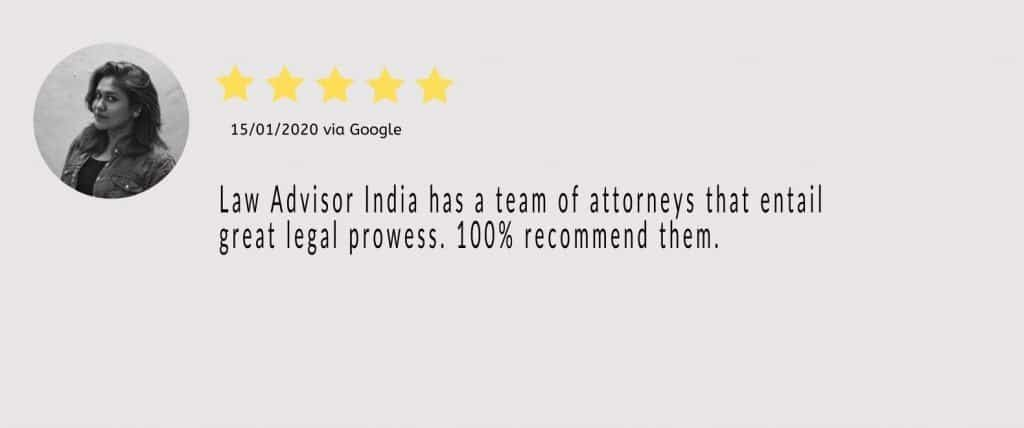 law advisor india will 1