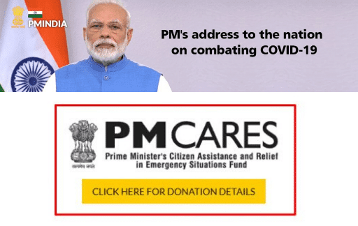 law advisor india pm cares fund relief for NRIs