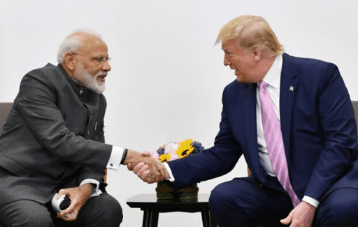 Law advisor india modi v/s trump
