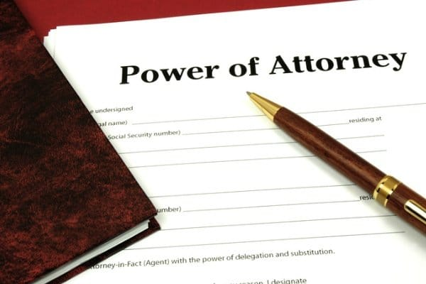 Correct General Power of Attorney format for NRI