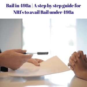 bail in 498a
